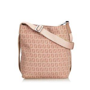 Fendi Zucchino Canvas Crossbody Bag