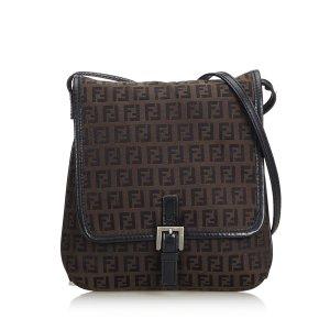 Fendi Crossbody bag dark brown