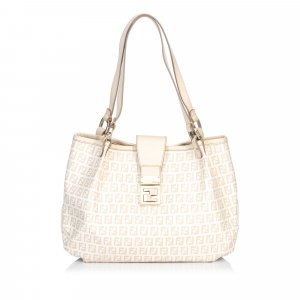 Fendi Sac hobo blanc
