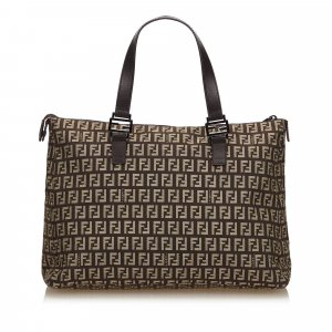 Fendi Tote dark brown