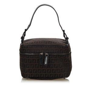 Fendi Zucchino Jacquard Vanity Bag