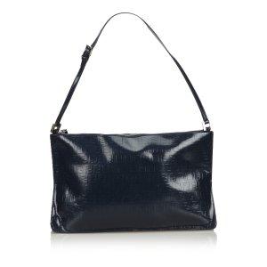 Fendi Zucchino Leather Shoulder Bag