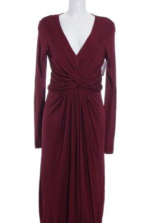 Fenn Wright Manson Abendkleid bordeauxrot Elegant