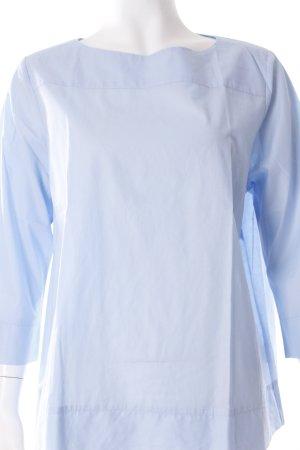 Fenn Wright Manson Langarm-Bluse himmelblau schlichter Stil