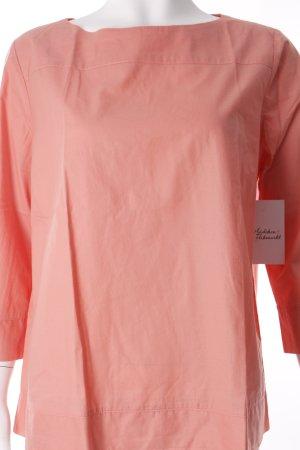 Fenn Wright Manson Langarm-Bluse lachs schlichter Stil