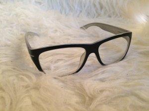 Fensterglas-Brille