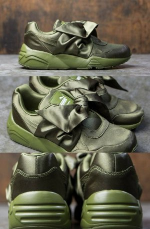 Fenty by Rihanna Street Sneakers Olive Green LIMITED EU40/US9