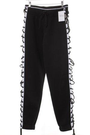 Fenty Puma by Rihanna Sporthose schwarz-weiß Streifenmuster sportlicher Stil