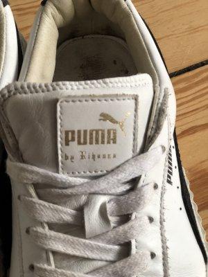 Fenty Puma by Rihanna Wedge Sneaker white-black