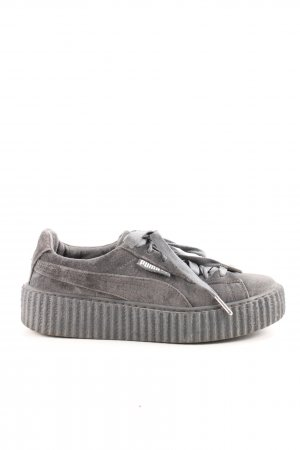 new arrival 2e665 a7a31 Fenty Puma Lace-Up Sneaker light grey casual look