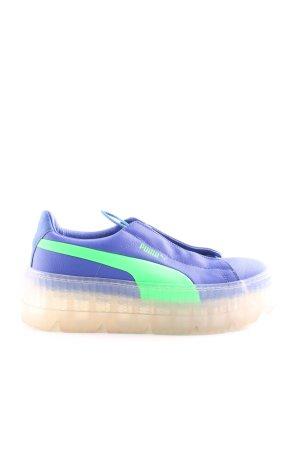 Fenty Puma Schnürsneaker blau-türkis sportlicher Stil