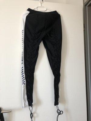 Fenty Puma by Rihanna Drainpipe Trousers black-white
