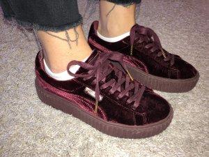 Fenty Puma by Rihanna Heel Sneakers carmine