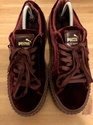 Rihanna Puma Lacets Chaussures À By Fenty Bordeau 0wvn8mNO