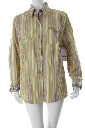 FER Hemd-Bluse Streifenmuster Street-Fashion-Look