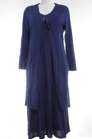Féraud Jersey Twin Set blau Casual-Look