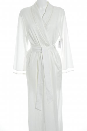 Féraud Dressing Gown cream simple style