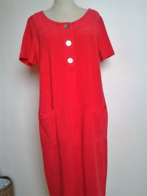Feraud - rotes Frotee Hauskleid, neu