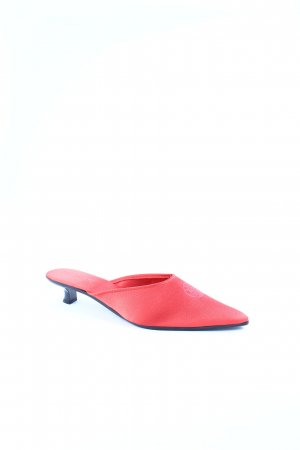 Féraud Spitz-Pumps rot extravaganter Stil