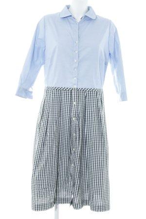 Ferdinand Greiner Abito blusa camicia motivo a quadri stile professionale