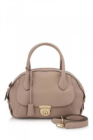Ferragamo Calf Leather Satchel