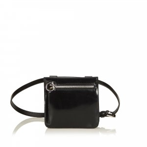 Ferragamo Gancini Leather Belt Bag