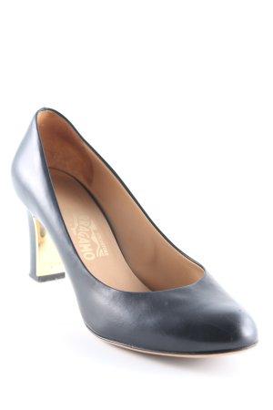 Ferragamo High Heels schwarz Elegant