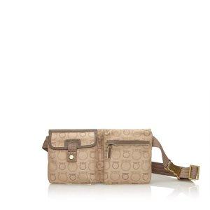 Ferragamo Jacquard Belt Bag
