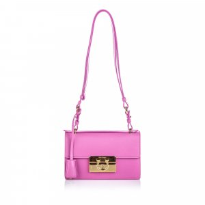 Ferragamo Leather Aileen Shoulder Bag