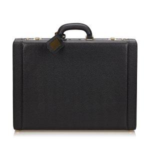 Ferragamo Leather Briefcase