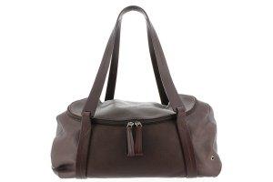 Ferragamo Leather Duffle Bag