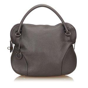 Ferragamo Leather Gancini 21