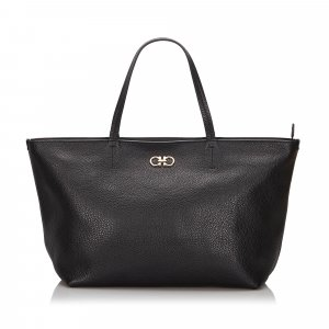 Ferragamo Tote black leather