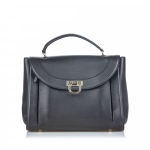 Ferragamo Leather Sofia Satchel