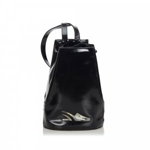 Ferragamo Patent Leather Backpack