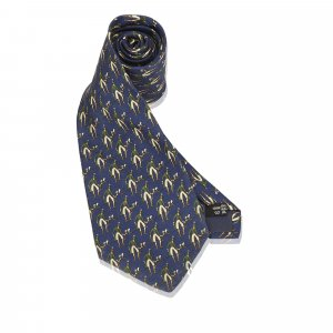 Ferragamo Printed Silk Necktie