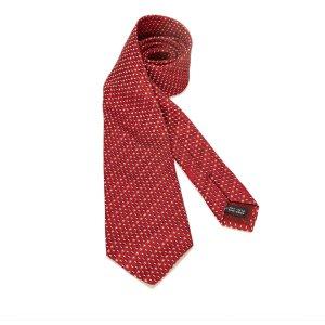 Ferragamo Foulard rouge soie