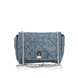 Ferragamo Quilted Painted Suede Gelly Crossbody Bag