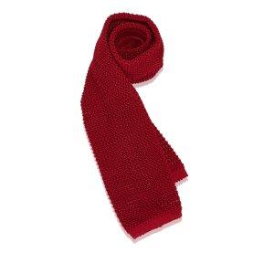 Ferragamo Silk Crochet Necktie