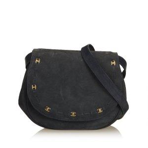 Ferragamo Suede Crossbody Bag