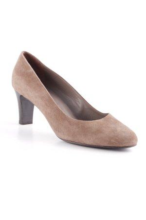 Ferri Italia High Heels graubraun Business-Look
