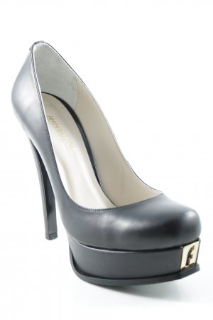 Fersengold High Heels schwarz Party-Look