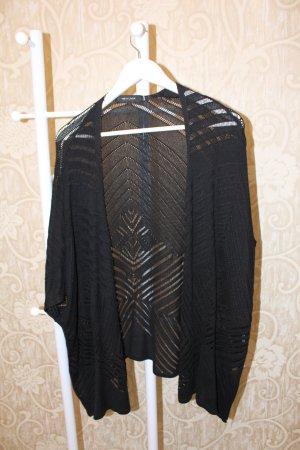 Gilet tricoté noir