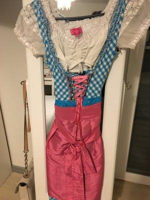 Ann Christine Vestido tradicional multicolor
