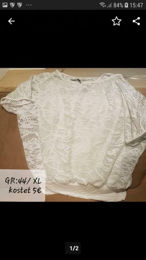 mister*lady Mesh Shirt white