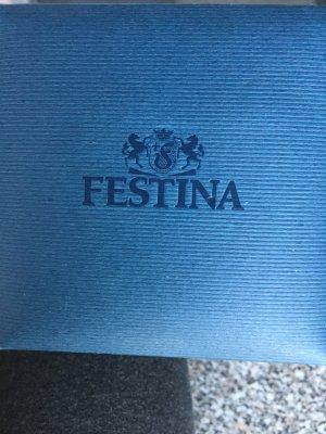 Festina Damenuhr Schwarz mit Leserband