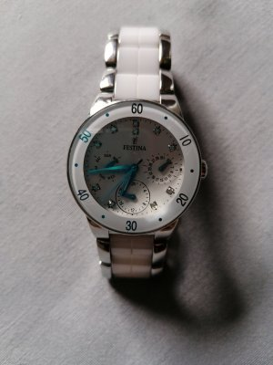 Festina Watch With Metal Strap white-cream