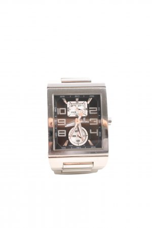 Festina Watch With Metal Strap silver-colored-black casual look