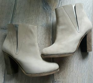 Maison Martin Margiela Booties silver-colored-natural white