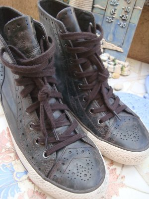 ASH High top sneaker veelkleurig Leer